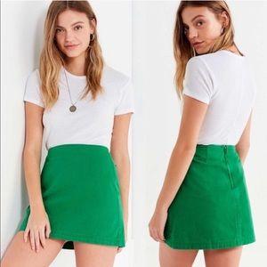UO BDG Structured Pelmet Mini Skirt Sz XS. NWT!